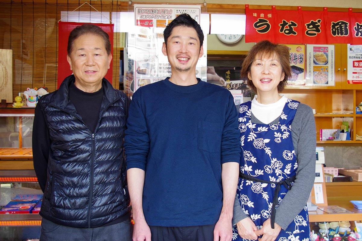太田商店を営む家族